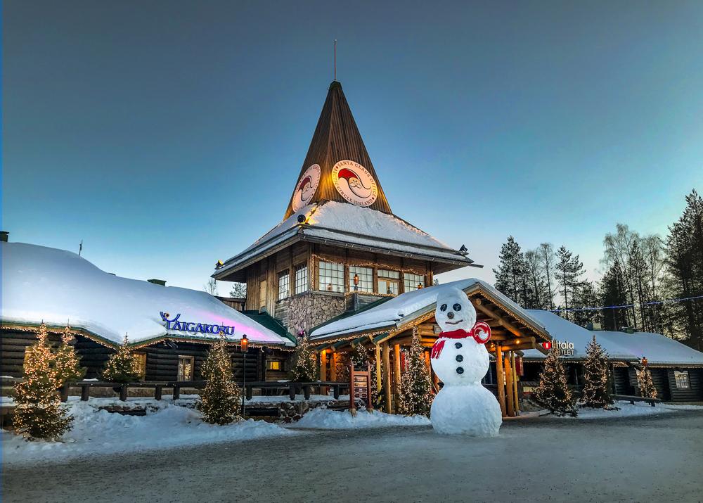 Santa Claus Village visit