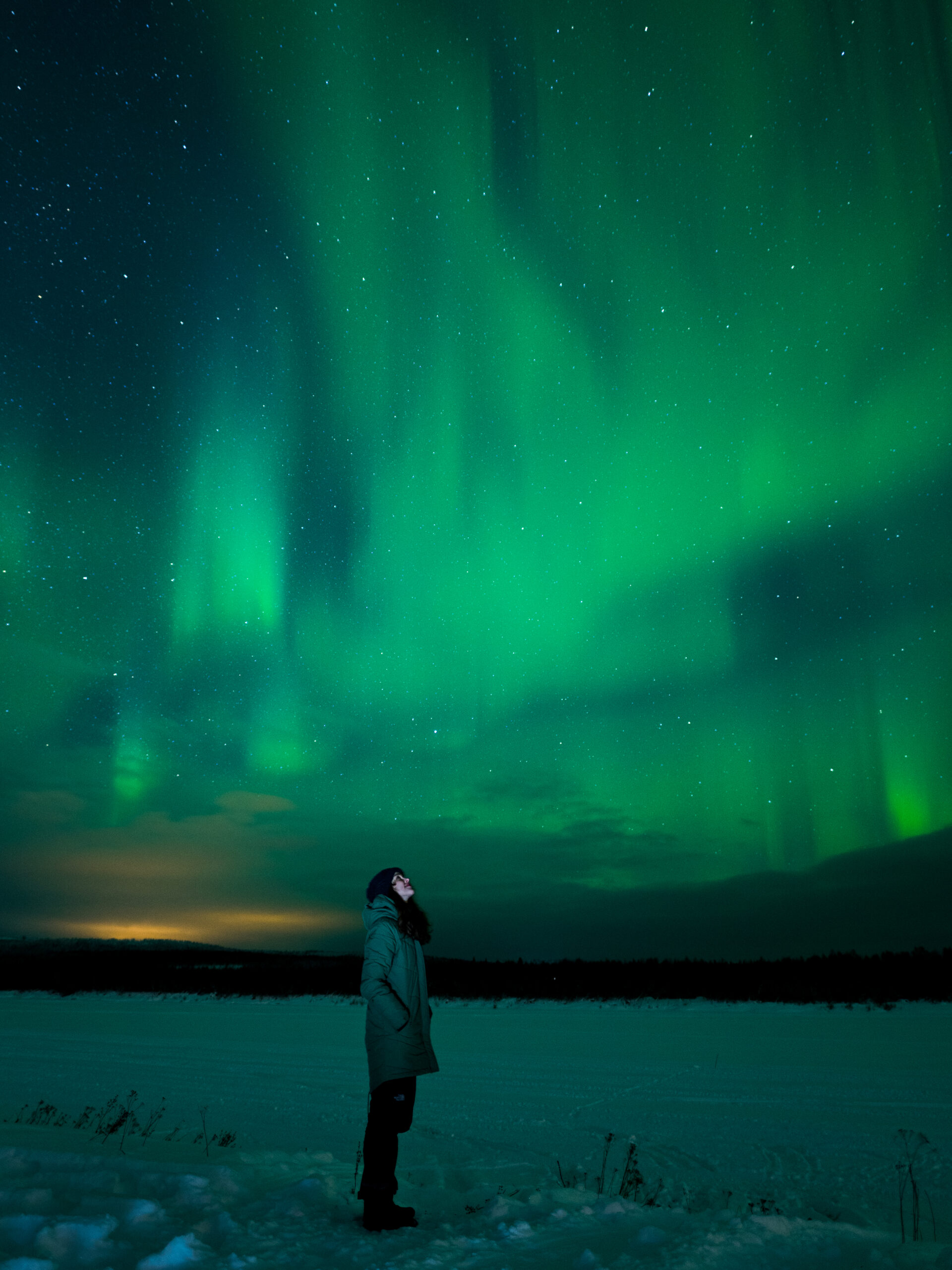 Northern Light photography Rovaniemi