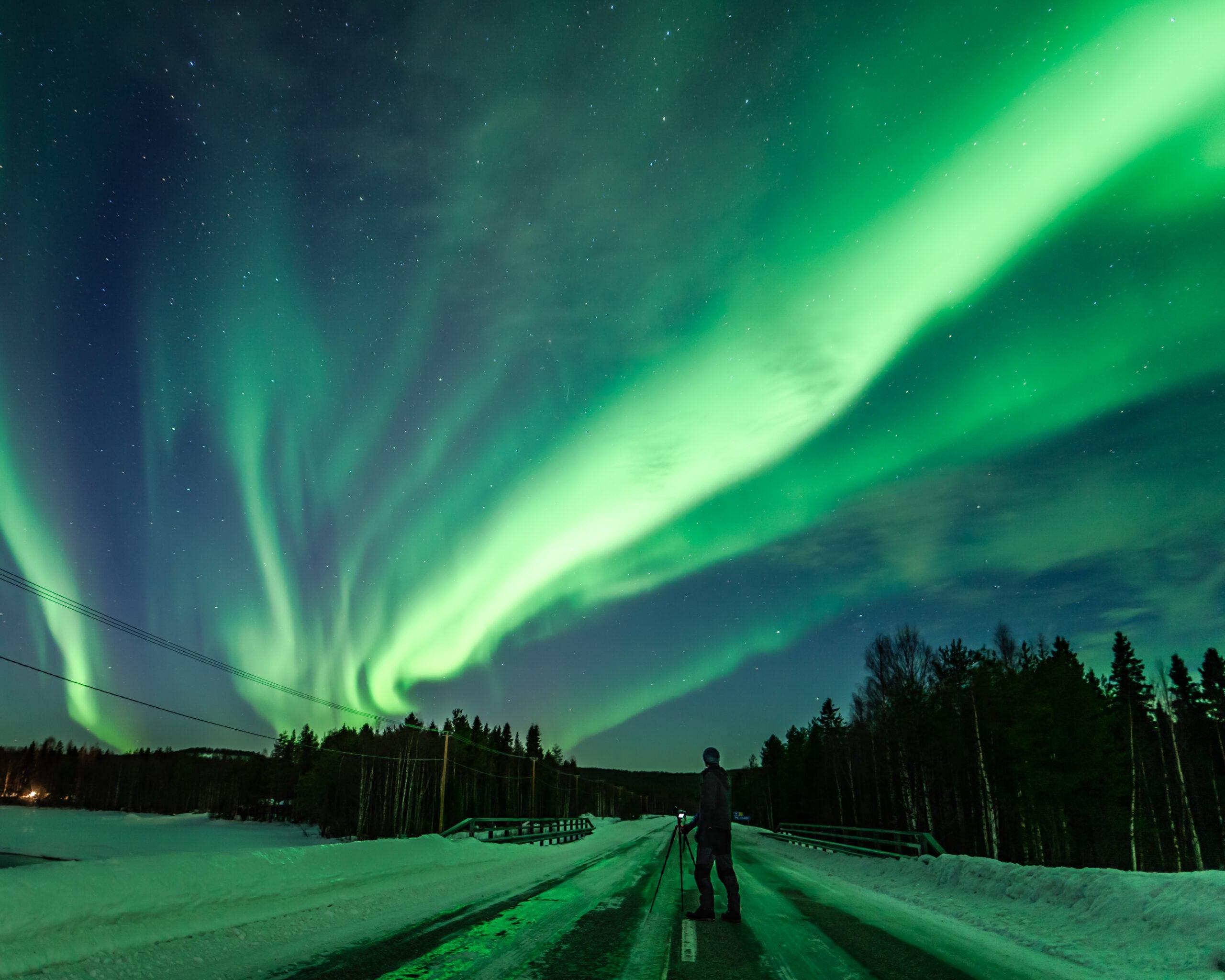 Northern Lights Photography Rovaniemi