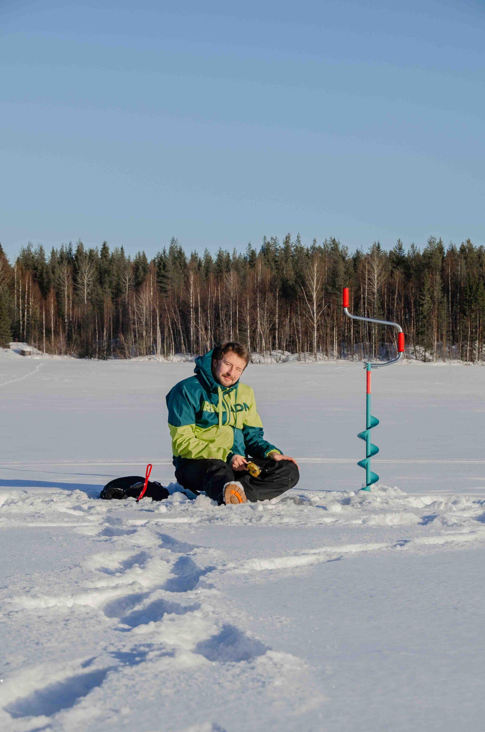 Nordic Odyssey-Ice fishing
